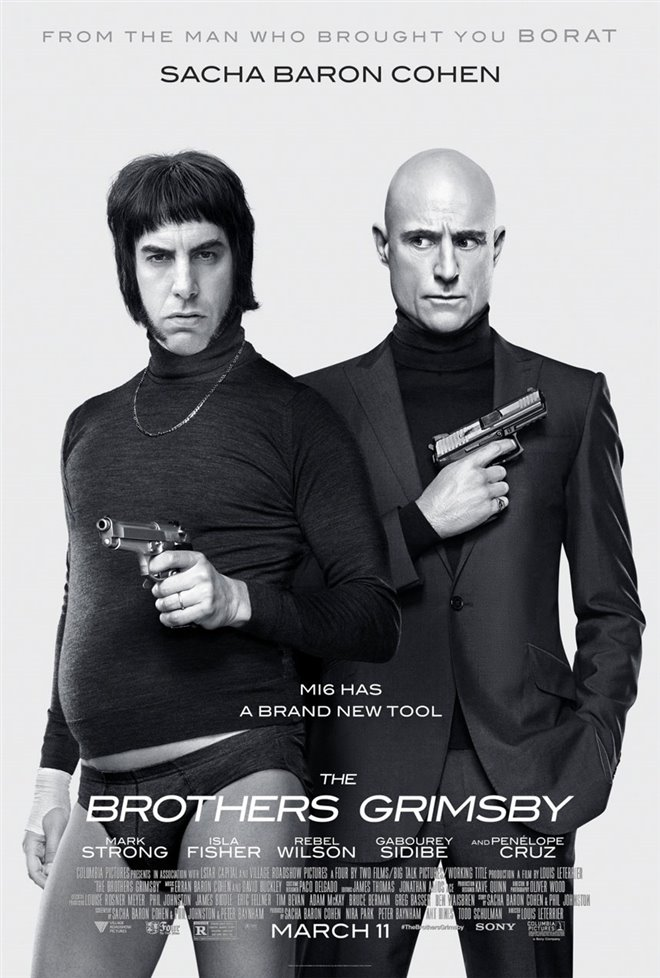 The Brothers Grimsby Large Poster