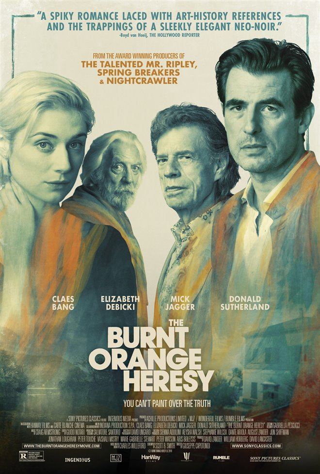 The Burnt Orange Heresy Large Poster