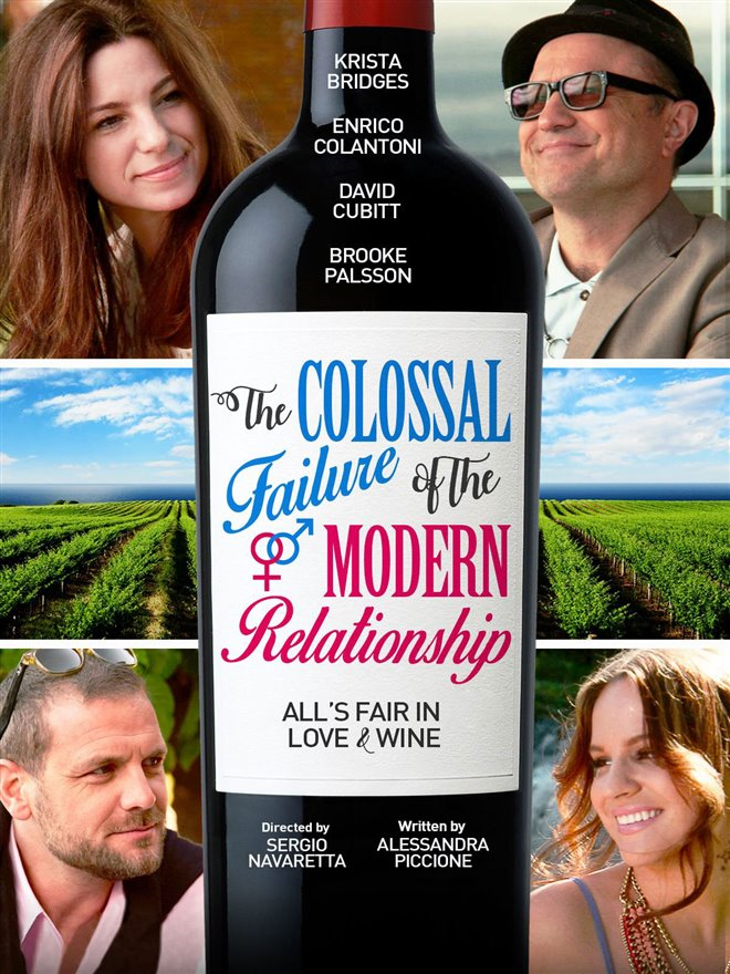 The Colossal Failure of the Modern Relationship Large Poster