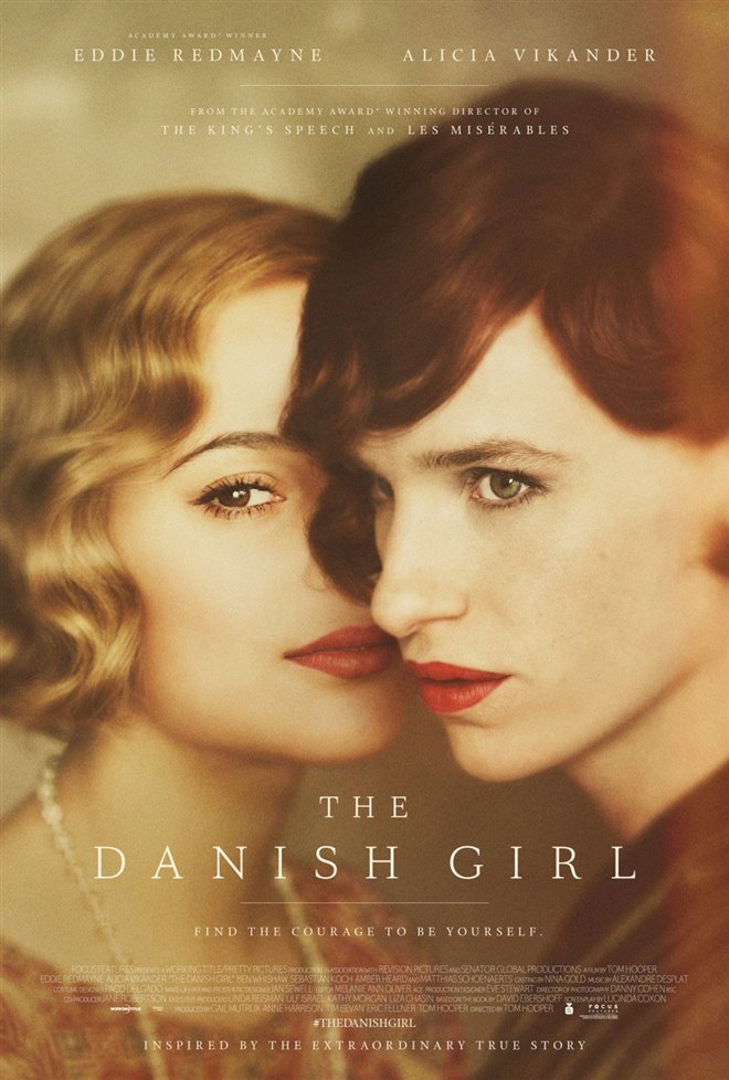 The Danish Girl Large Poster