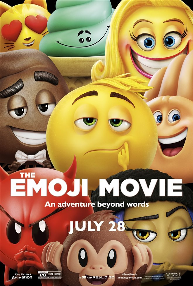 The Emoji Movie Large Poster