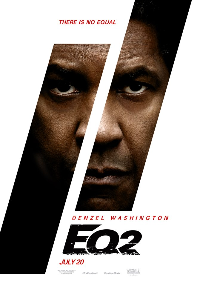The Equalizer 2 Large Poster
