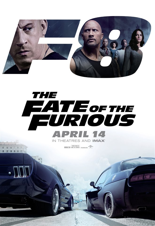 The Fate of the Furious Large Poster