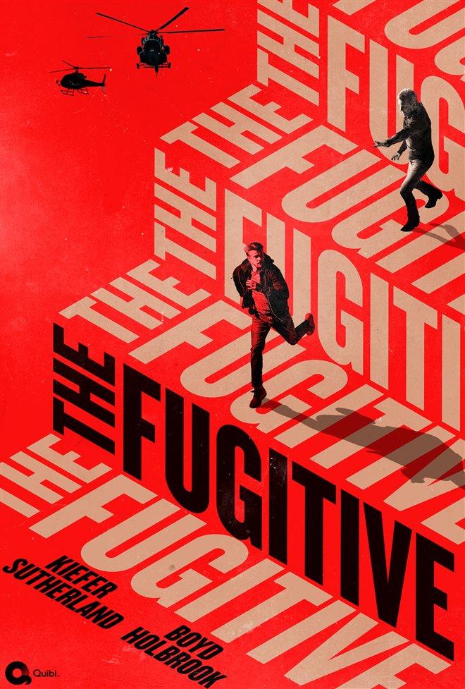 The Fugitive (Quibi) Large Poster