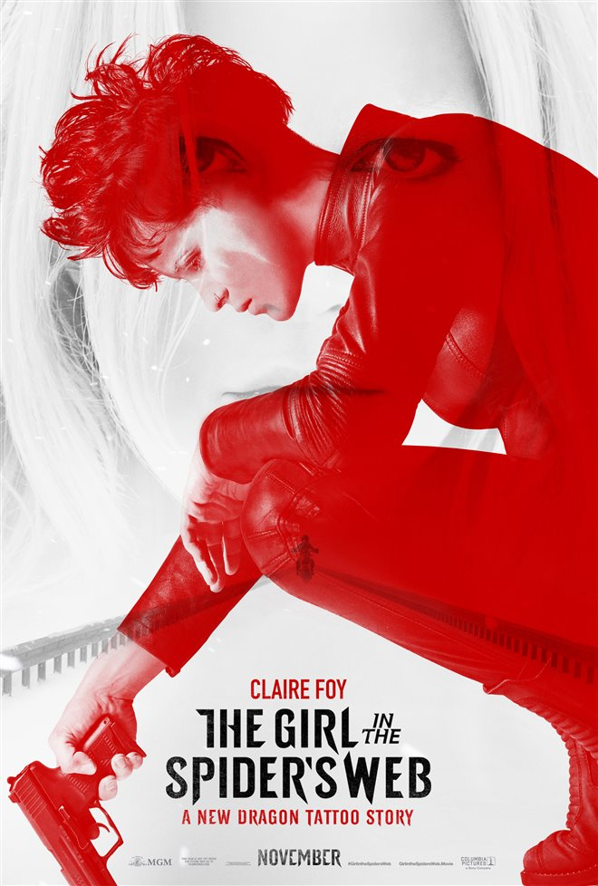 The Girl in the Spider's Web Large Poster