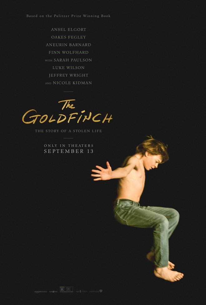 The Goldfinch Large Poster