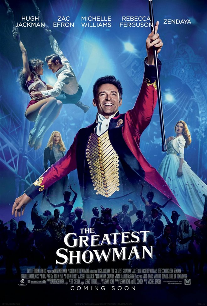 Image result for the greatest showman movie cover