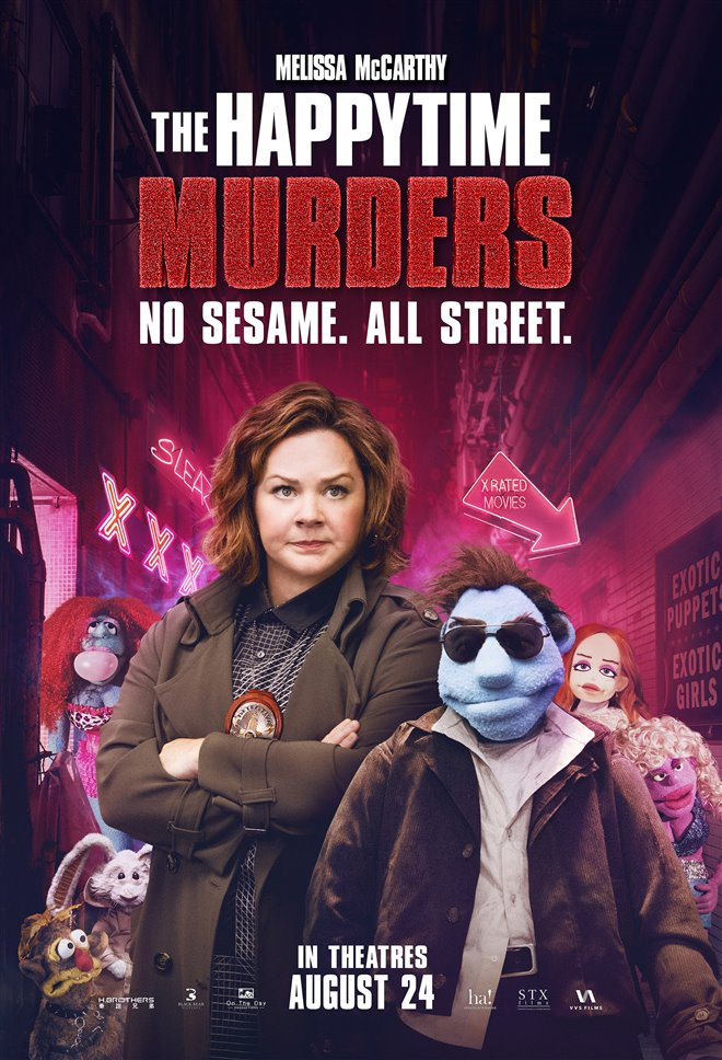 The Happytime Murders Large Poster