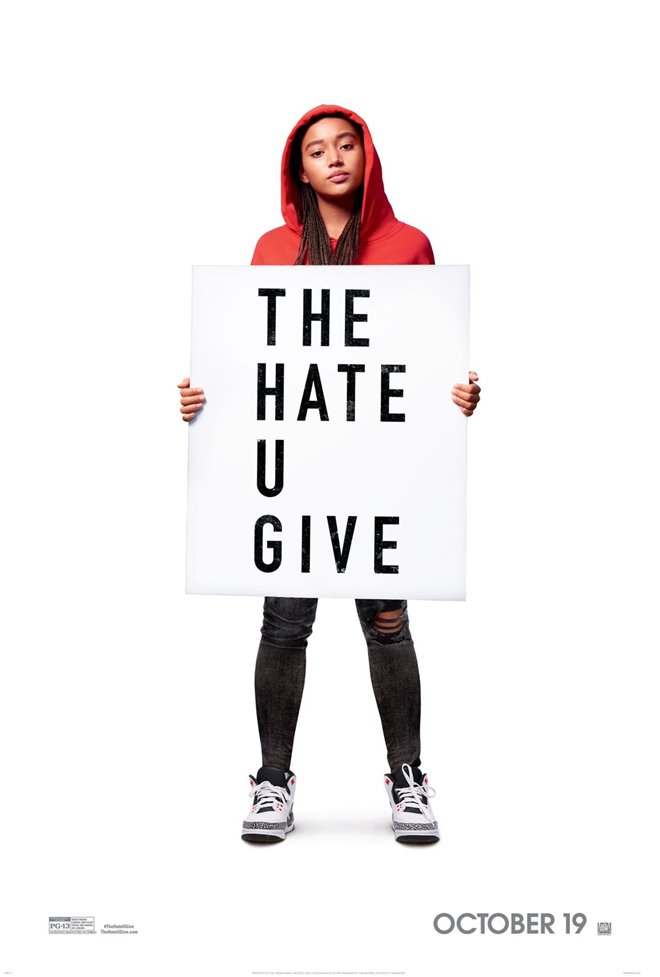 The Hate U Give Large Poster