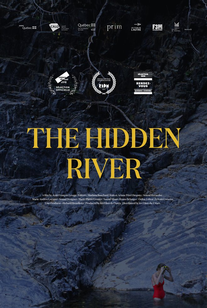 The Hidden River Large Poster
