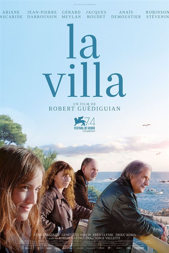 The House by the Sea Large Poster