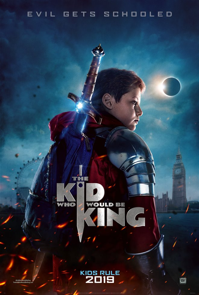 The Kid Who Would Be King Large Poster