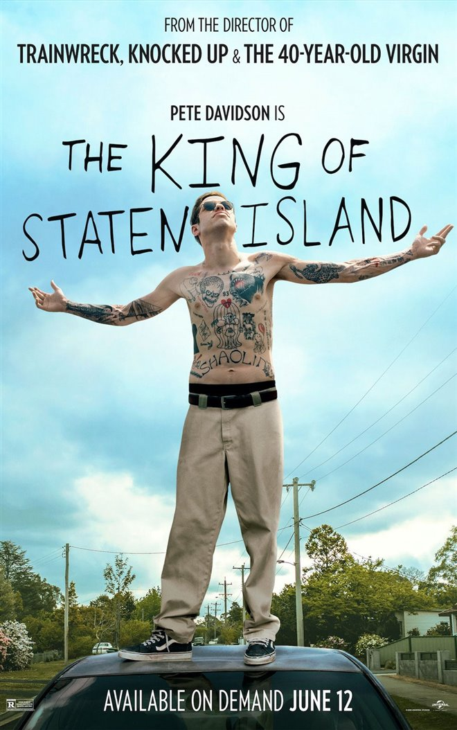 The King of Staten Island Large Poster