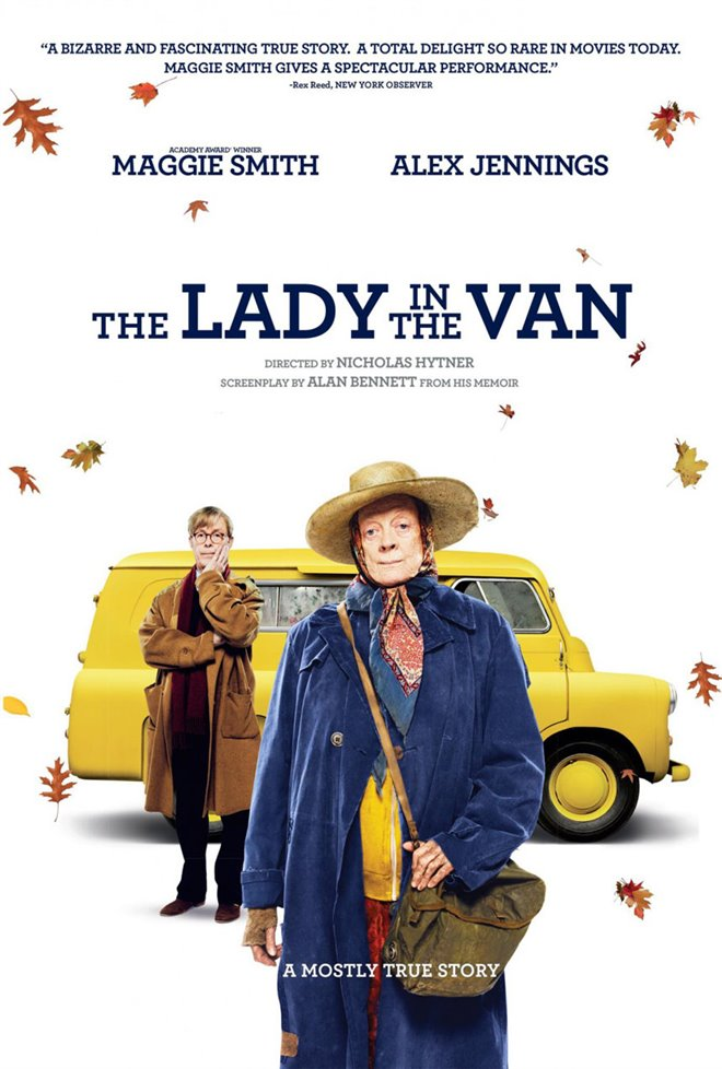 The Lady in the Van Large Poster