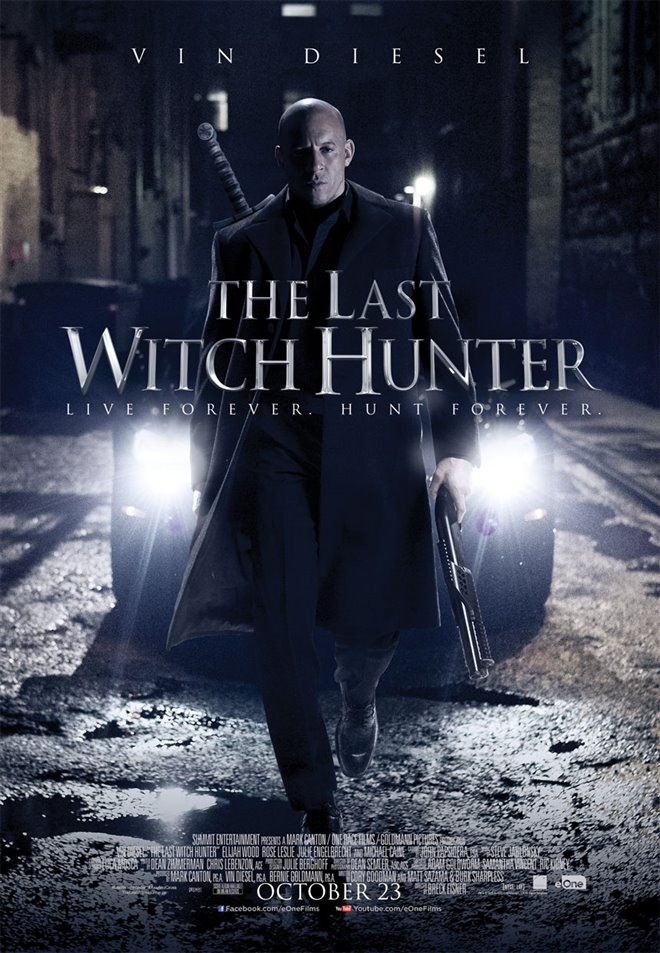 The Last Witch Hunter Large Poster