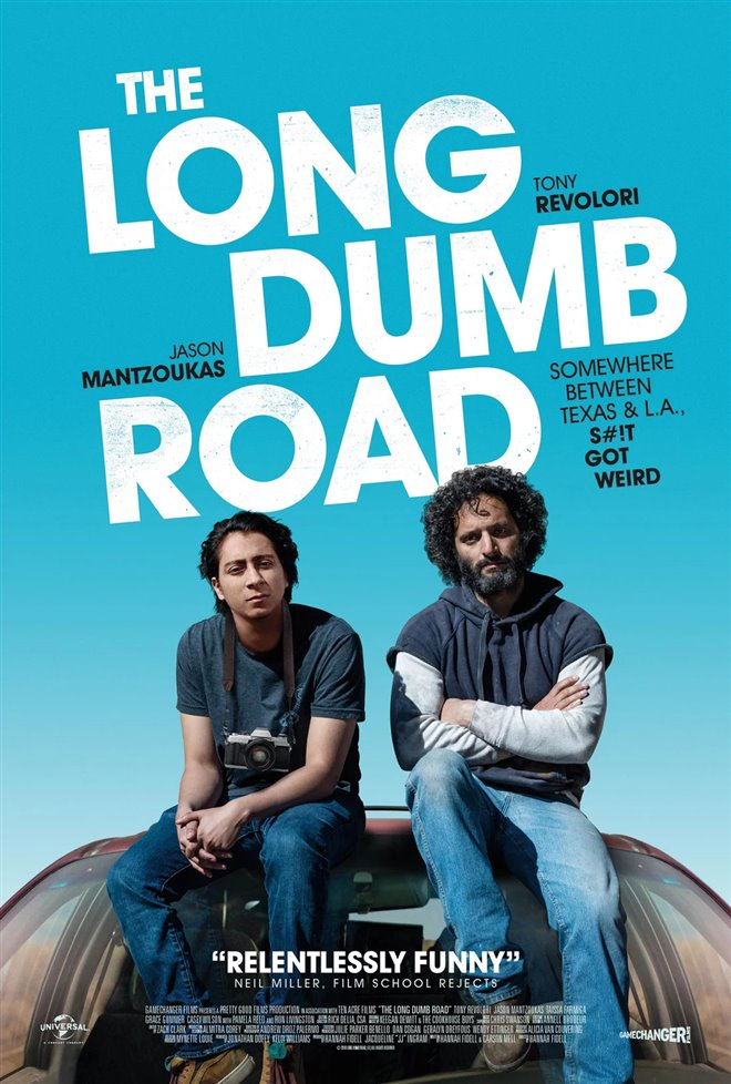 The Long Dumb Road Large Poster
