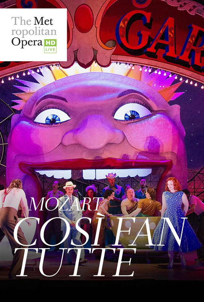 The Metropolitan Opera: Così fan tutte Large Poster