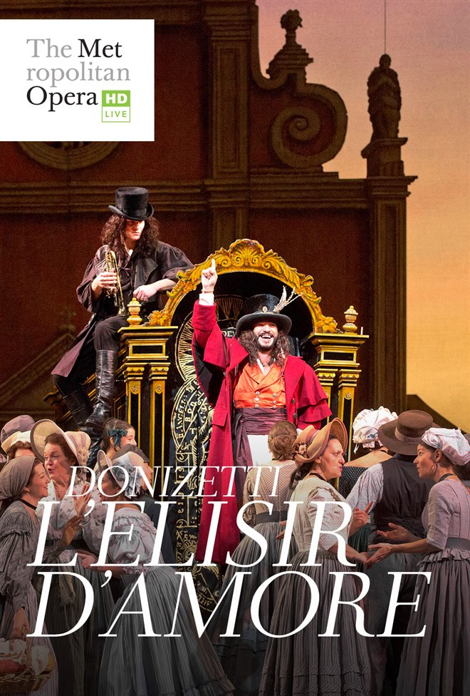The Metropolitan Opera: L'Elisir d'Amore Large Poster