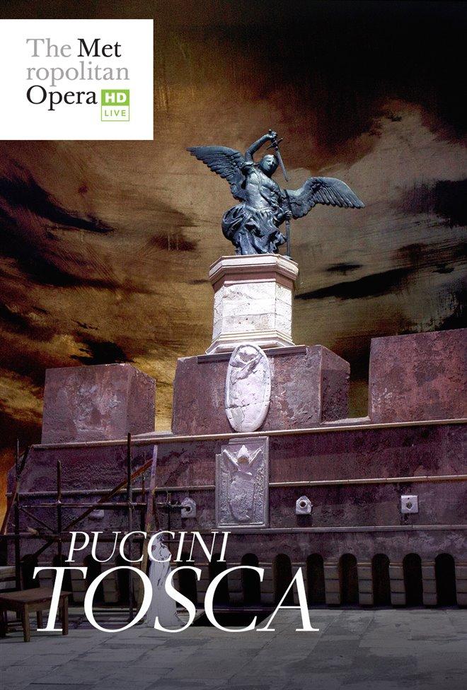 The Metropolitan Opera: Tosca Large Poster