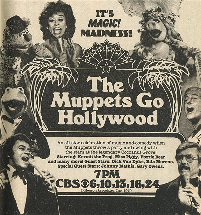 The Muppets Go Hollywood (1979) Large Poster