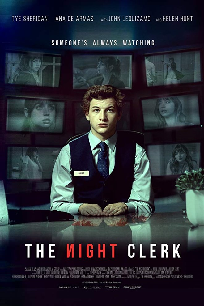 The Night Clerk Large Poster