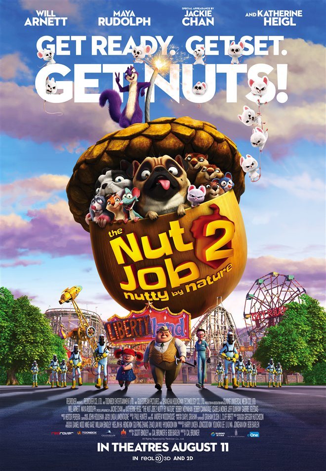 The Nut Job 2: Nutty By Nature Large Poster