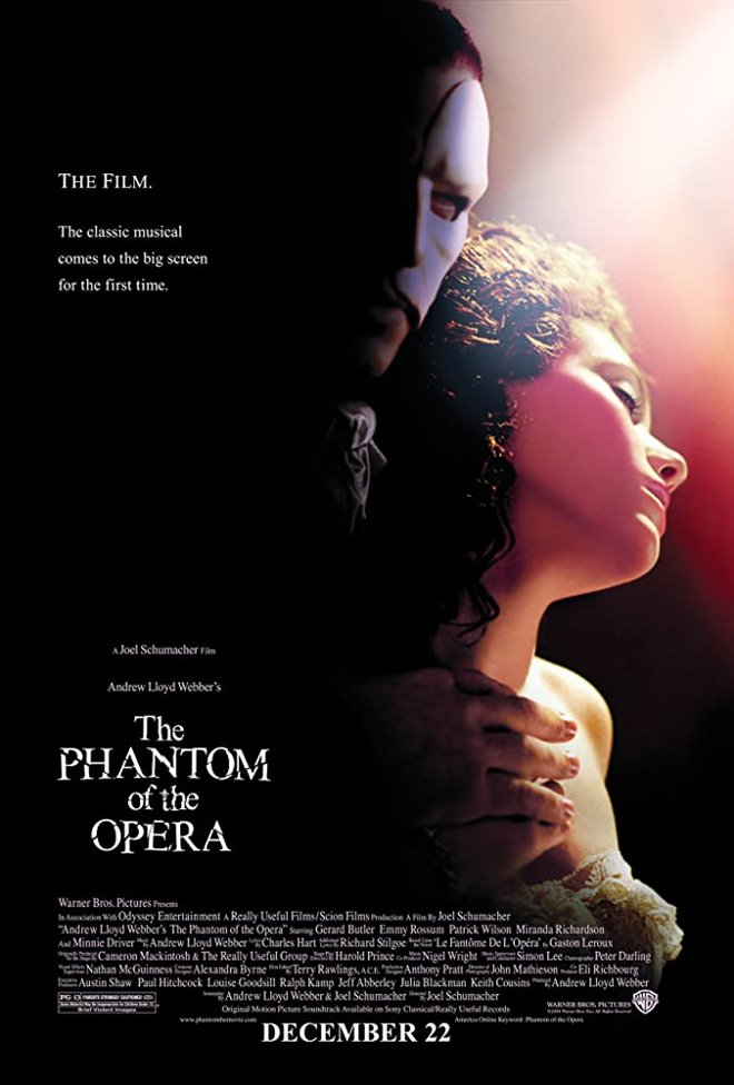 The Phantom of the Opera Large Poster