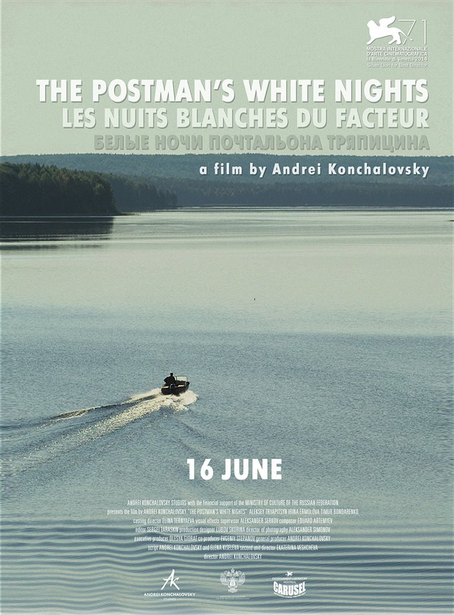 The Postman's White Nights Large Poster