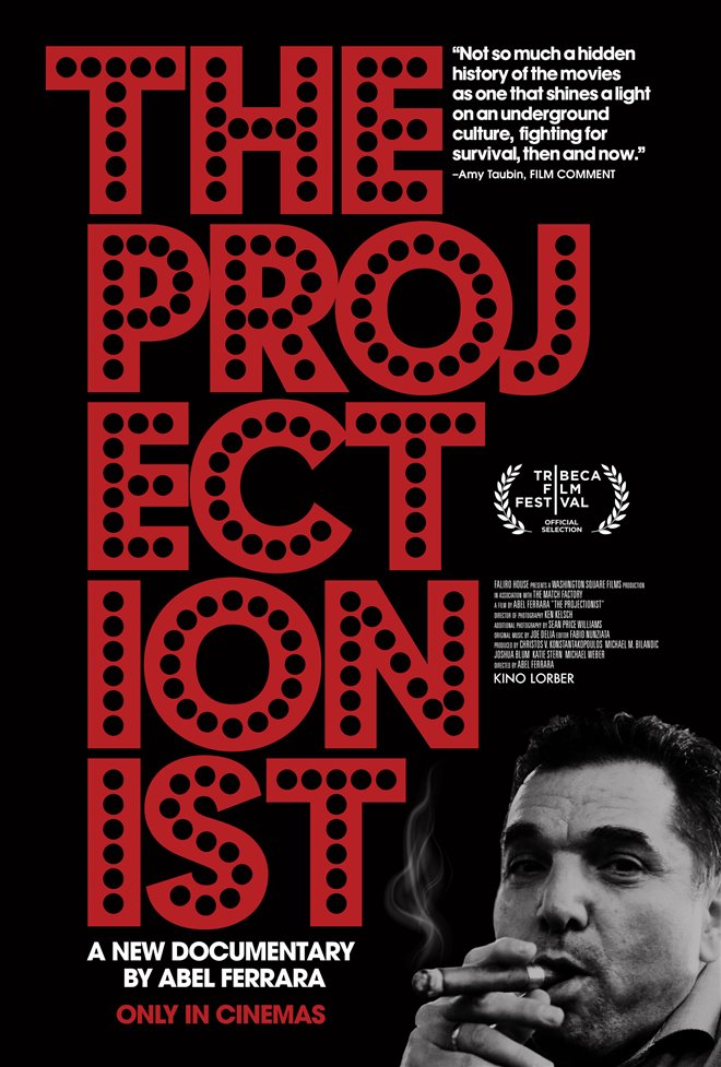The Projectionist Large Poster