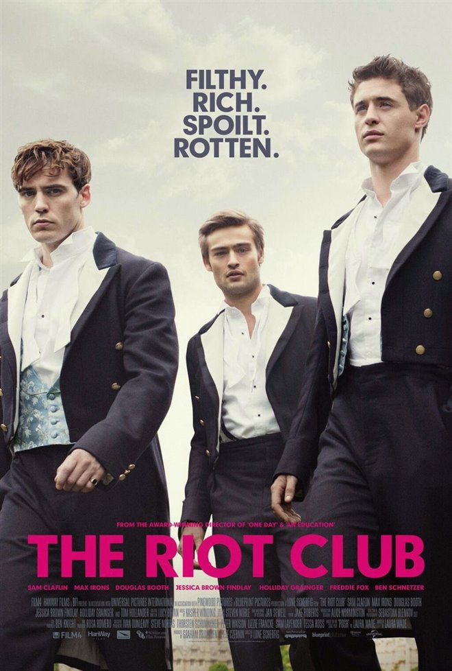 The Riot Club Large Poster