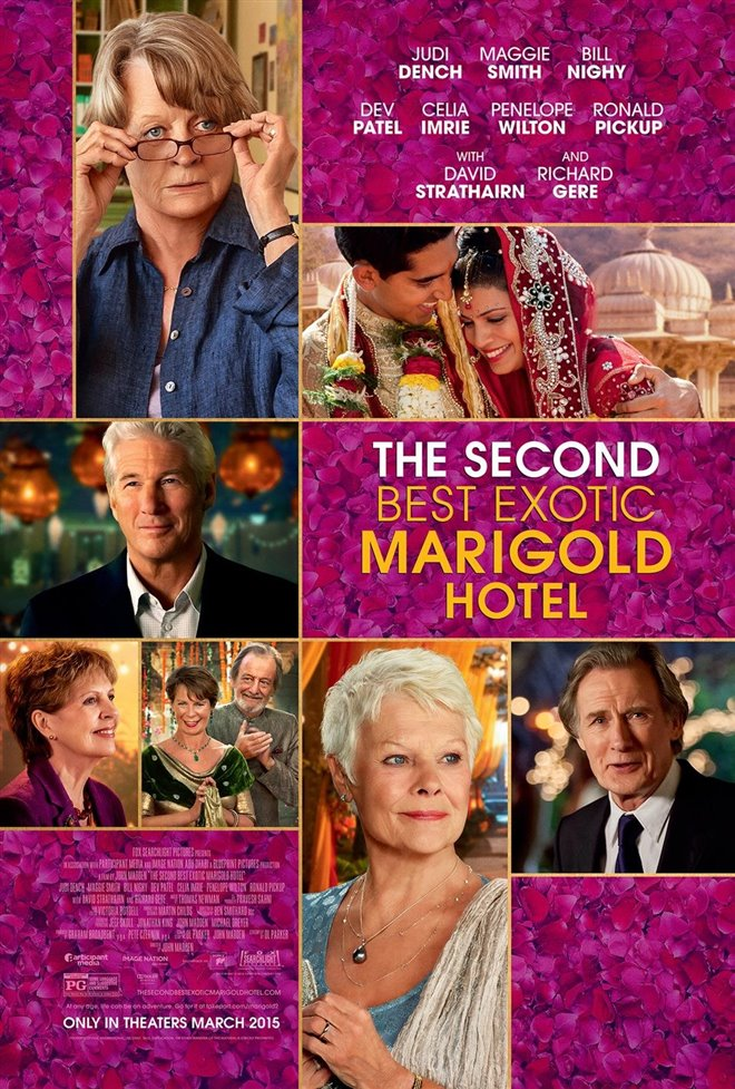 The Second Best Exotic Marigold Hotel Large Poster