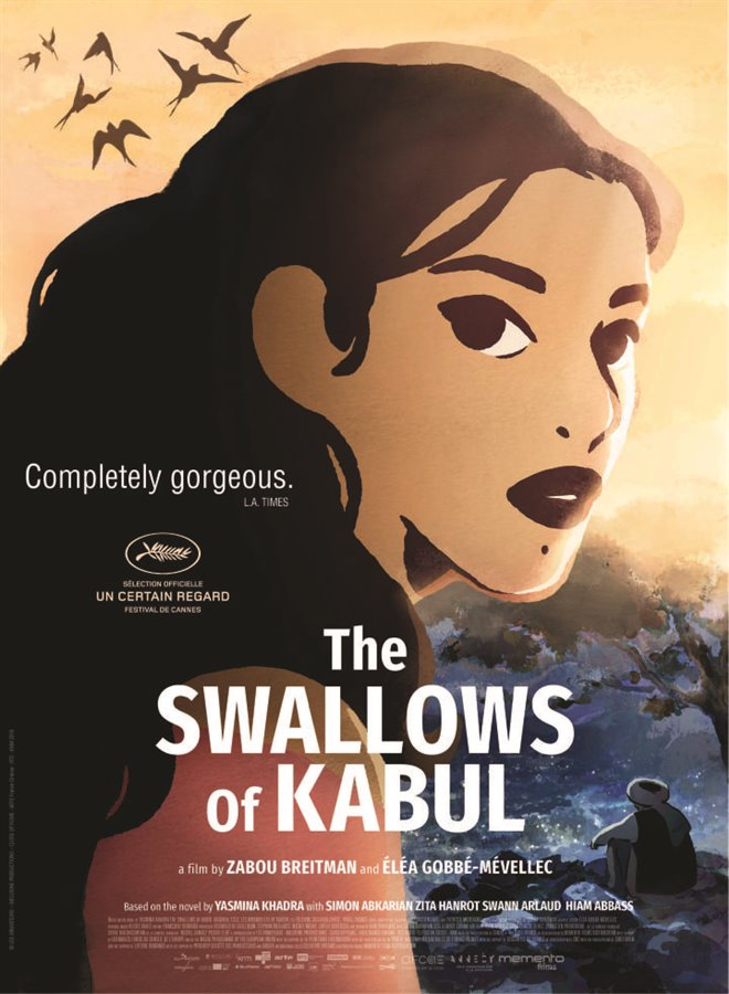 The Swallows of Kabul Large Poster