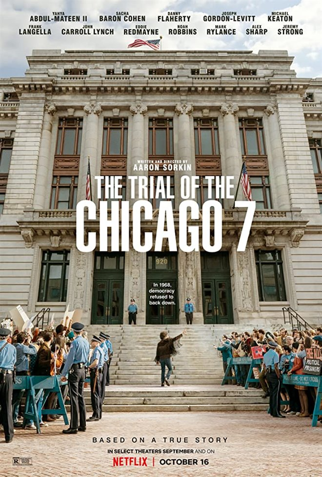The Trial of the Chicago 7 (Netflix) Large Poster