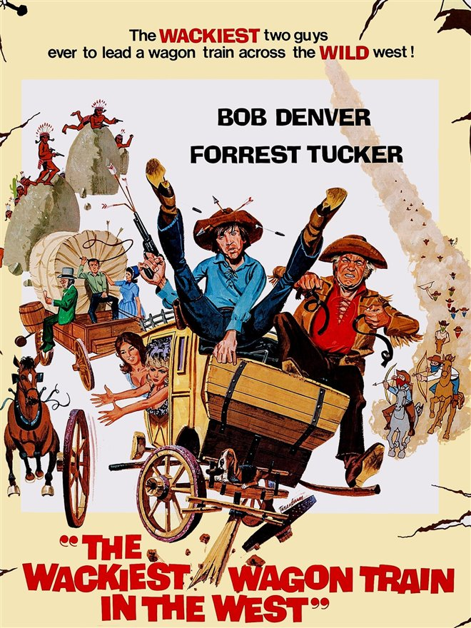 The Wackiest Wagon Train in the West Large Poster