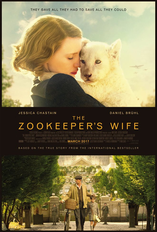 The Zookeeper's Wife Large Poster