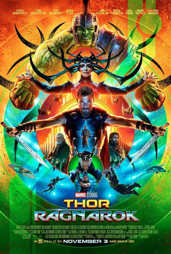 Thor: Ragnarok Large Poster