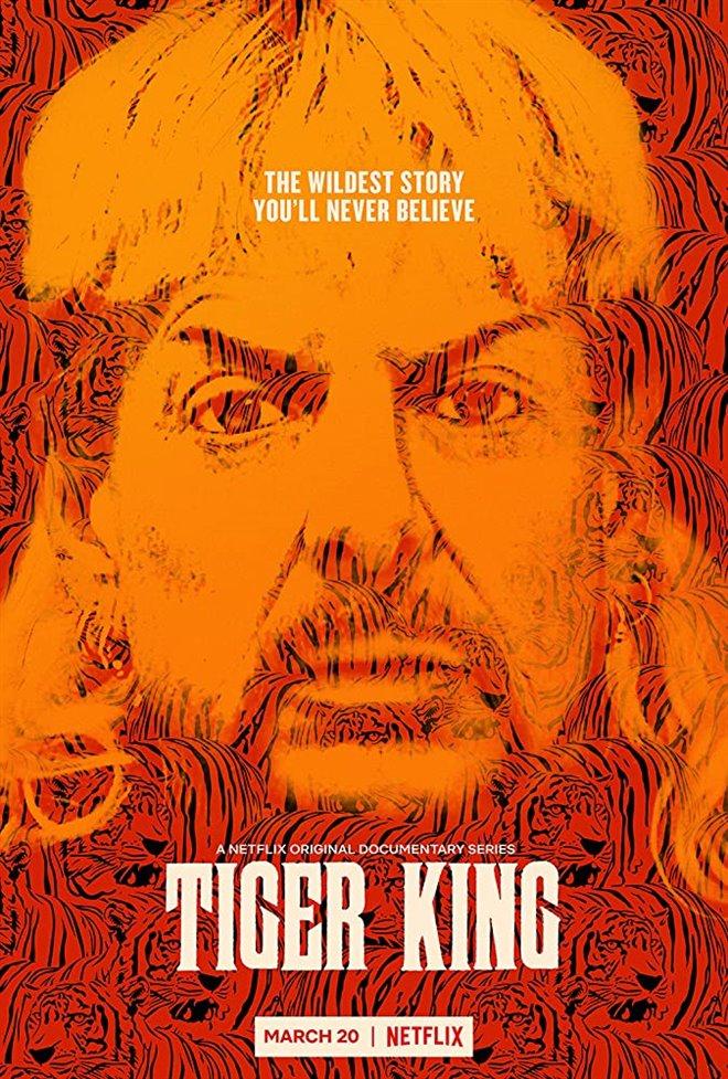 Tiger King: Murder, Mayhem and Madness (Netflix) Large Poster