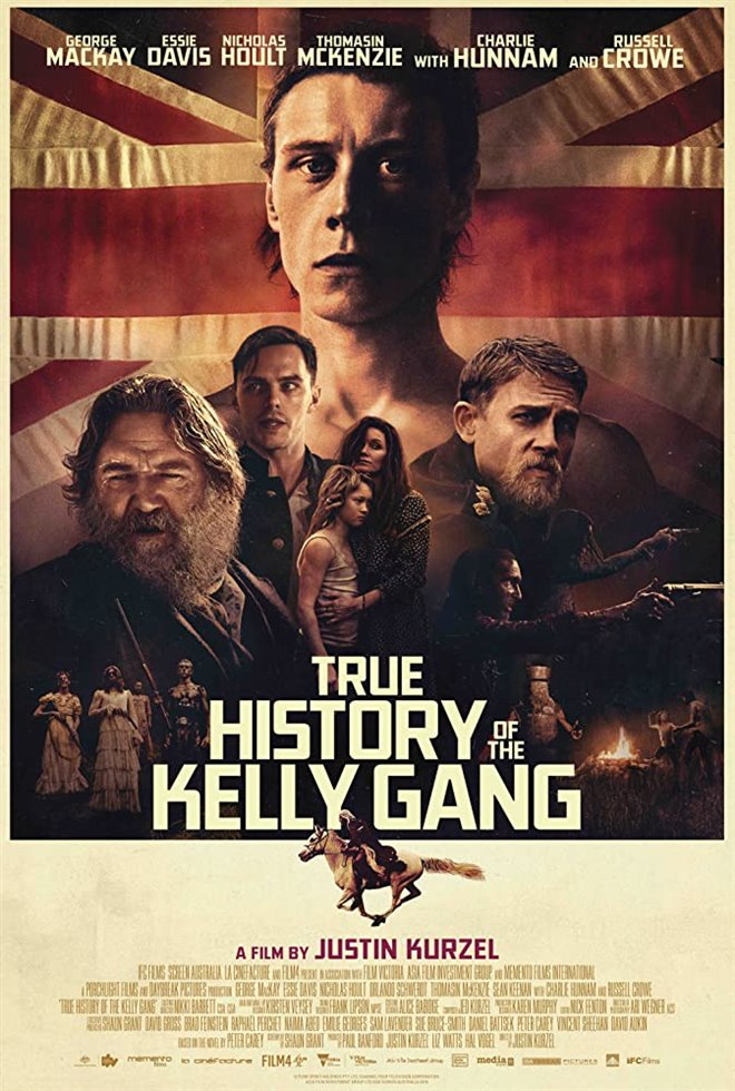 True History of the Kelly Gang Large Poster
