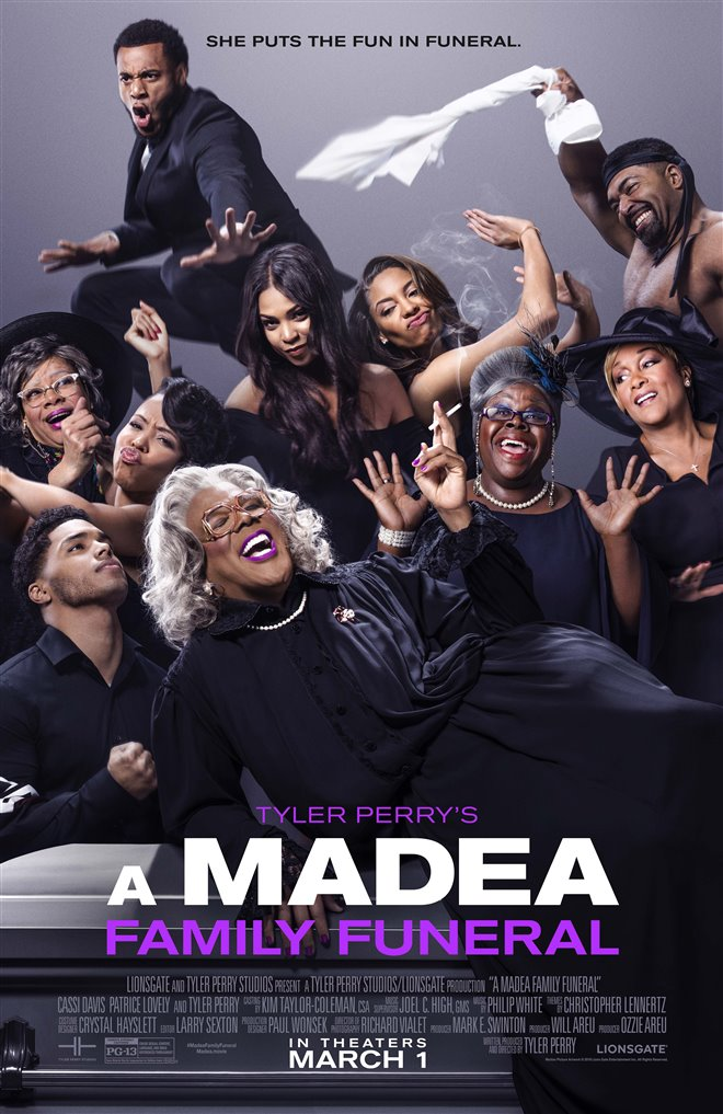 Tyler Perry's A Madea Family Funeral Large Poster