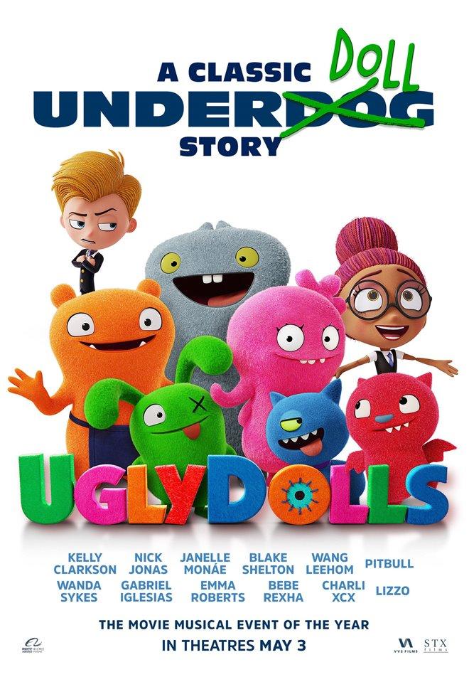 UglyDolls Large Poster