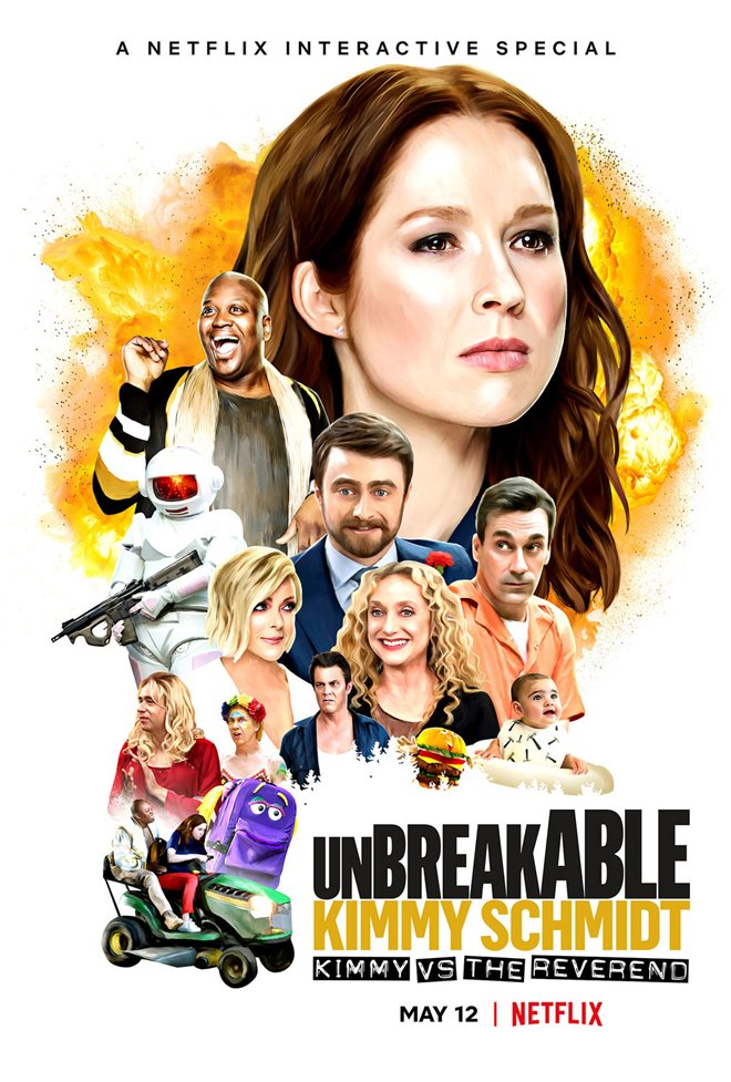 Unbreakable Kimmy Schmidt: Kimmy vs. the Reverend Large Poster