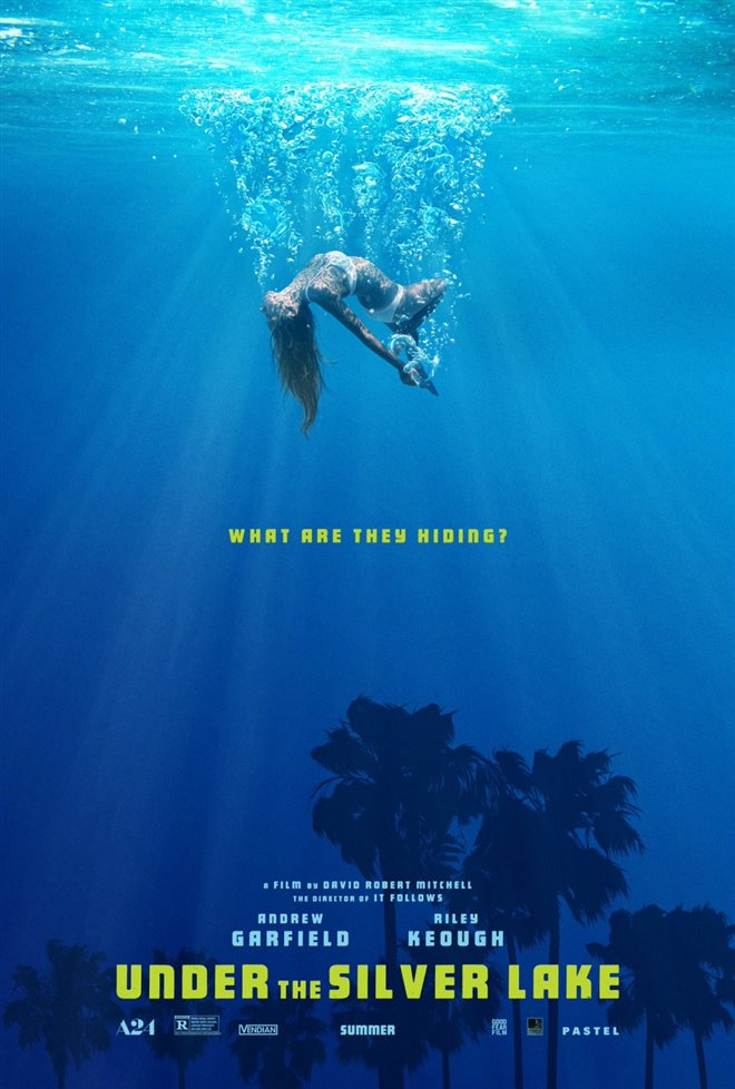Under the Silver Lake Large Poster