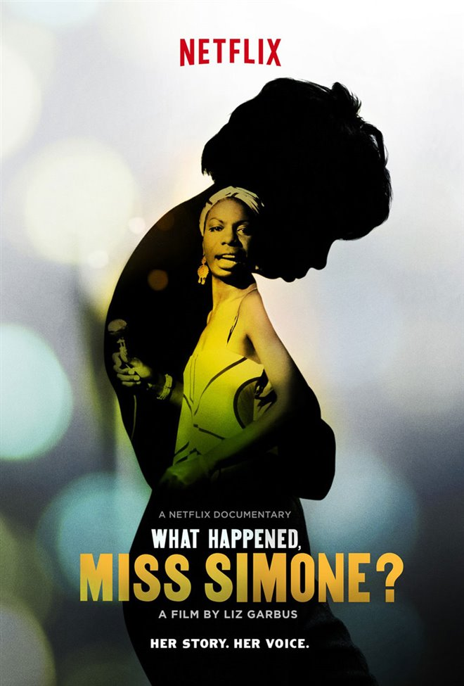 What Happened, Miss Simone? Large Poster