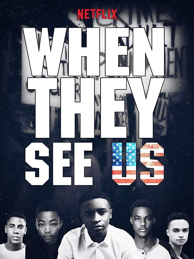 When They See Us (Netflix) Large Poster