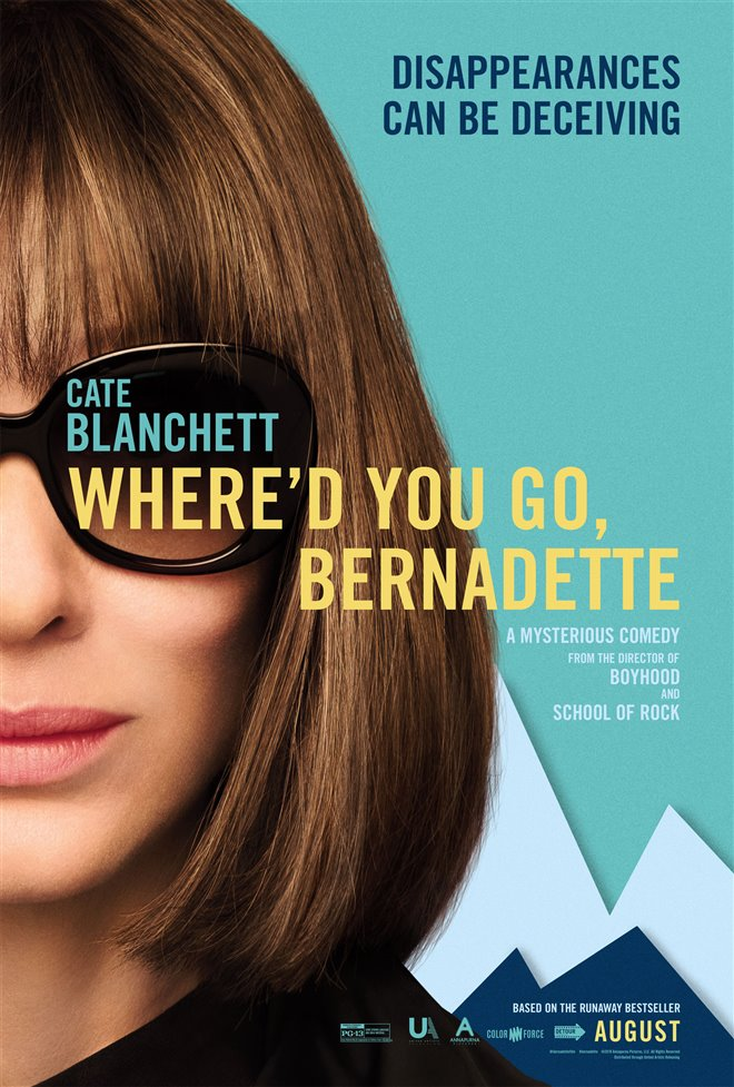 Where'd You Go, Bernadette Large Poster