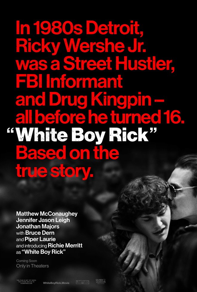 White Boy Rick Large Poster