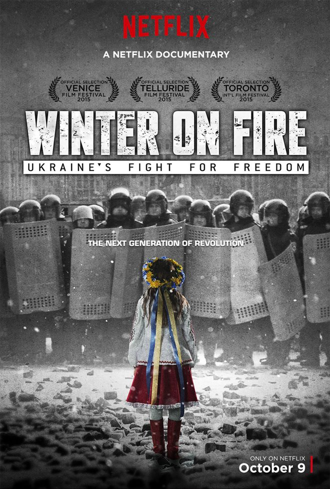 Winter on Fire: Ukraine's Fight for Freedom Large Poster