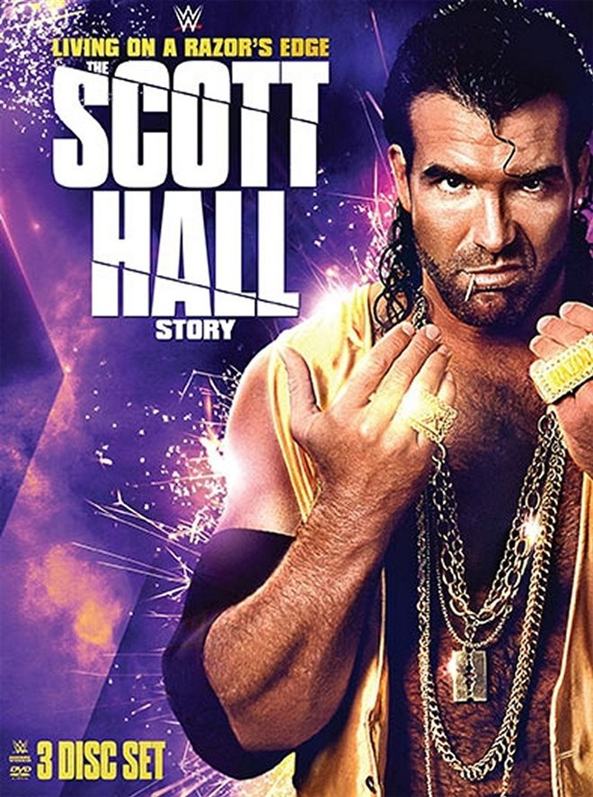 WWE: Living on a Razor's Edge - The Scott Hall Story Large Poster