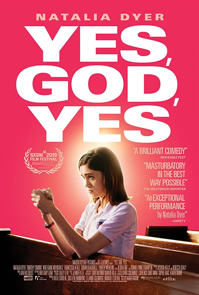 Yes, God, Yes Large Poster