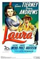 Laura (1944) poster